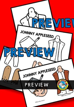 JOHNNY APPLESEED CRAFT PUPPET (FALL CRAFTS)