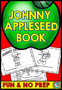 Johnny Appleseed Activity 2nd Grade 1st Grade Kindergarten Book