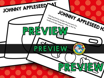 JOHNNY APPLESEED CRAFTS HAT (JOHNNY APPLESEED ACTIVITIES)