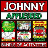 JOHNNY APPLESEED ACTIVITIES 2ND GRADE, 1ST GRADE (SEPTEMBER CRAFTS, GAME, BOOK)