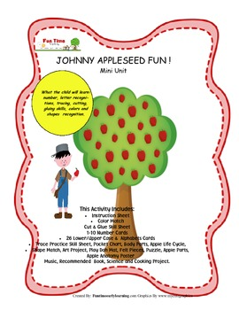 JOHNNY APPLESEED MINI FUN UNIT