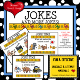 JOKES Posters Room Decor Figurative Language Speech Therapy