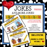 JOKES Posters Room Decor Figurative Language Speech Therapy FREE