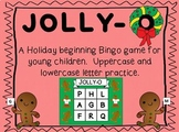 JOLLY-O! {A holiday letter BINGO Game for PreK-K}