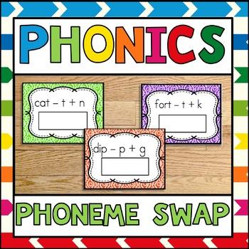 Phonics Center Phoneme Swap Sample