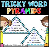 Tricky Words Fluency Pyramid