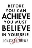 JONATHAN TOEWS Inspiration Poster PE