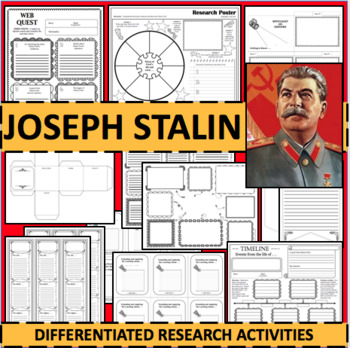 JOSEPH STALIN Biographical Biography Research Activities