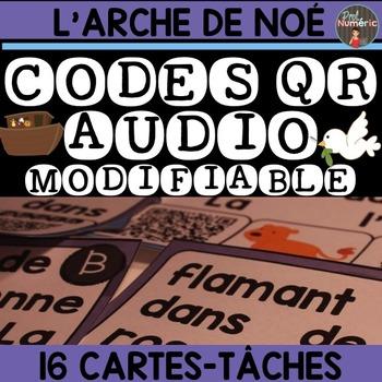 JOUER AVEC LES MOTS ET LES CODES QR AUDIO - ARCHE DE NOÉ