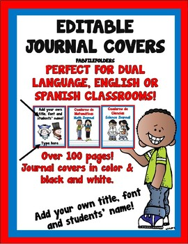 JOURNAL COVERS FOR DUAL LANGUAGE