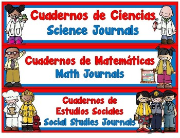 JOURNAL LABELS FOR DUAL LANGUAGE-EDITABLE