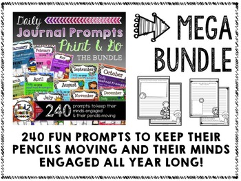 JOURNAL PROMPTS - 12 MONTH MEGA BUNDLE