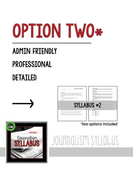 JOURNALISM SYLLABUS, editable