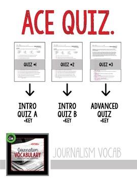 JOURNALISM VOCABULARY, quiz, advanced, newspaper