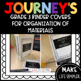 JOURNEY'S BINDER COVERS FOR ORGANIZING ACTIVITES/PRINTABLES (3RD)