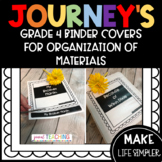 JOURNEY'S BINDER COVERS FOR ORGANIZING ACTIVITES/PRINTABLES (4TH)