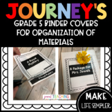 JOURNEY'S BINDER COVERS FOR ORGANIZING ACTIVITES/PRINTABLES (5TH)