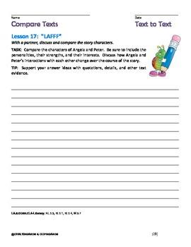 JOURNEYS Common Core, Grade 5:  Compare Text