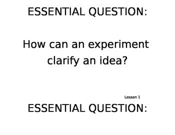 JOURNEYS: Common Core- Grade 5 Essential Questions for each lesson