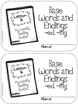 JOURNEYS Common Core 2nd grade - Spelling Unit 4