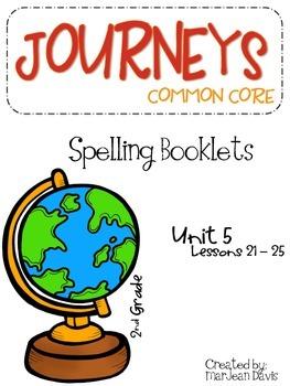 JOURNEYS Common Core - Spelling Unit 5