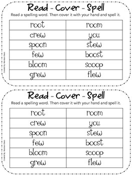 JOURNEYS Common Core 2nd grade - Spelling Unit 6