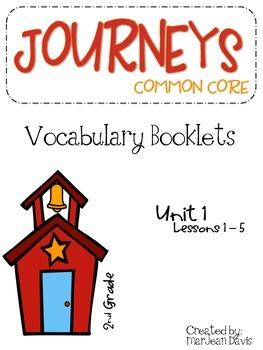 JOURNEYS Common Core - Vocabulary  Unit 1