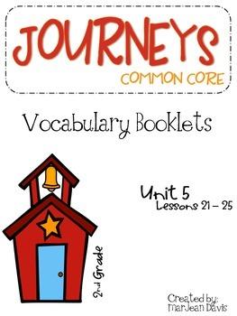 JOURNEYS Common Core - Vocabulary  Unit 5