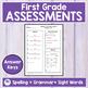 JOURNEYS FIRST GRADE - MEGA BUNDLE - Pre & Post Assessments