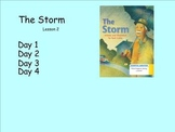 """JOURNEYS FIRST GRADE """"THE STORM"""" LESSON 2"""