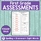 JOURNEYS FIRST GRADE Unit 3 Pre & Post Assessments