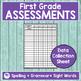 JOURNEYS FIRST GRADE Unit 5 Pre & Post Assessments