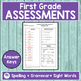 JOURNEYS FIRST GRADE Unit 5 Pre & Post Assessments
