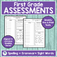 JOURNEYS FIRST GRADE Unit 6 Pre & Post Assessments