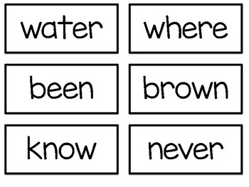 JOURNEYS: First Grade High Frequency Word Wall Cards and Headers