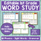 FIRST GRADE WORD WORK UNIT 2