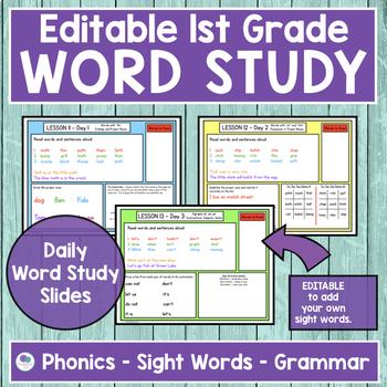 JOURNEYS First Grade Sight Word, Phonics & Spelling Word Study - UNIT 3