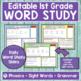 JOURNEYS First Grade Sight Word, Phonics & Spelling Word Study - UNIT 6