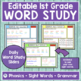 JOURNEYS First Grade Sight Word, Phonics & Spelling Word S