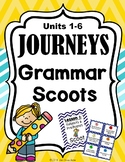 JOURNEYS Grammar Scoots or Task Cards - Second Grade Units