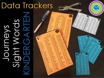 JOURNEYS~ Kindergarten Sight Word DATA Tracker