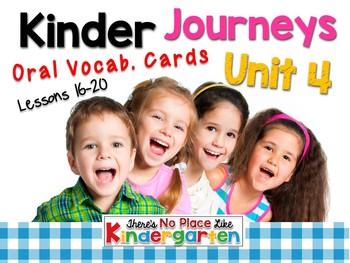 JOURNEYS Kindergarten Oral Language Unit 4: Lessons 16-20