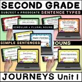 JOURNEYS Second Grade Unit 1 - Grammar Boom Cards / Digita
