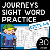 JOURNEYS SIGHT WORD PRACTICE!! ALL 30 LESSONS!