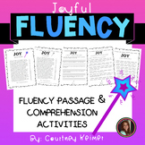 JOY Fluency Passage & Comprehension Activities Freebie {Grade 6}