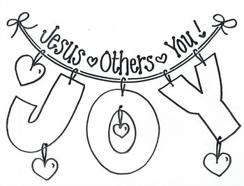 JOY!  Jesus, Others, You!