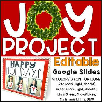 JOY Project (templates in English and Spanish)