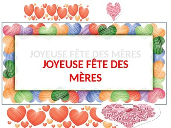 JOYEUSE FÊTE DES MÈRES by Mary Cottle | Teachers Pay Teachers