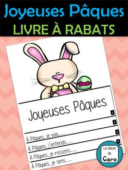 JOYEUSES PÂQUES - LIVRE À RABATS (FRENCH FSL)
