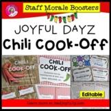 JOYFUL DAYZ (Staff Morale Boosters) CHILI COOK-OFF